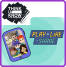 TUK Play Like Share Small Icon