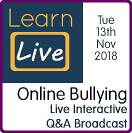 Learn Live Bullying Web Icon
